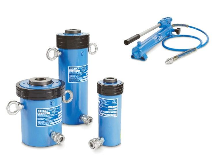 Pumpen und Zylinder